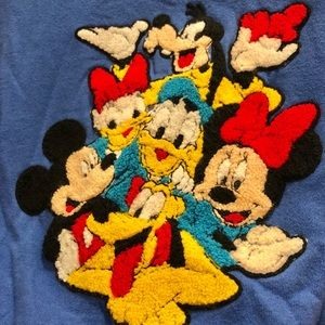Vintage Mickey and friends crew neck sweater.
